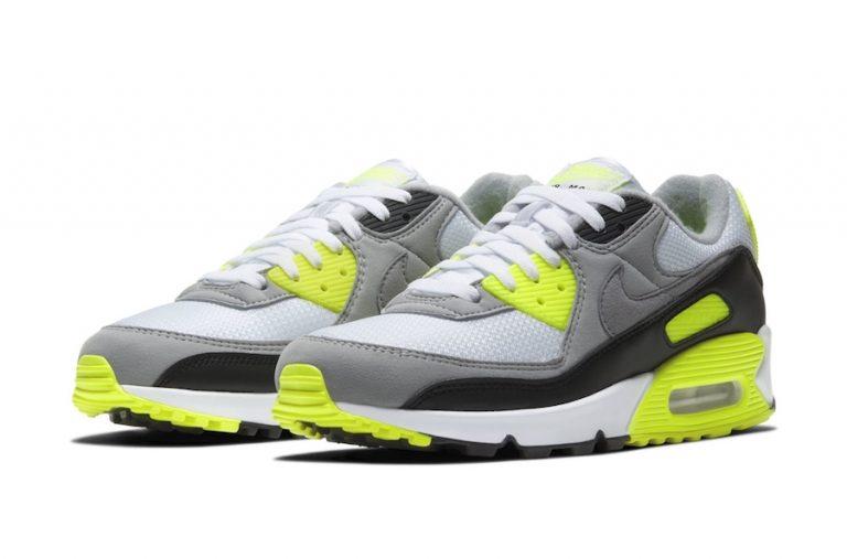 Nike Air Max 90 OG Volt CD0881-103 Release Date