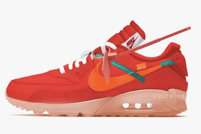 Off-White Nike Air Max 90 University Red AA7293-600 Release Date