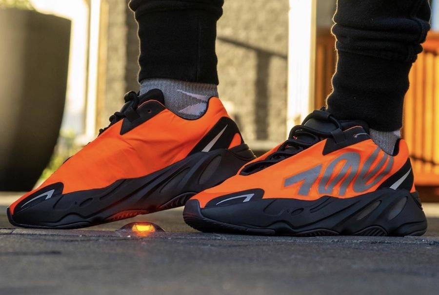 adidas 700 MNVN Orange FV3258 Release Date