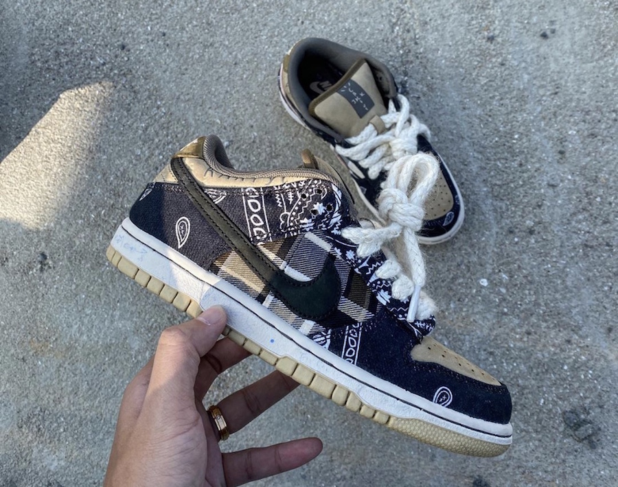 Travis Scott Nike SB Dunk Low CT5053-001 Release Date