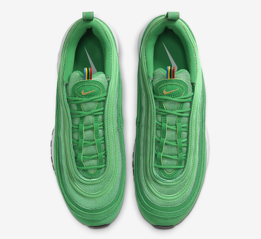 St. Patrick's Day Nike Air Max 97 Lucky Green