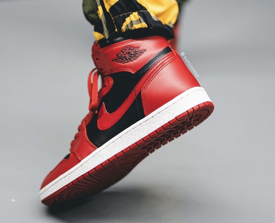Air-Jordan-1-Hi-85-Varsity-Red-Reverse-Bred-BQ4422-600-Release-Date-On-Feet-8