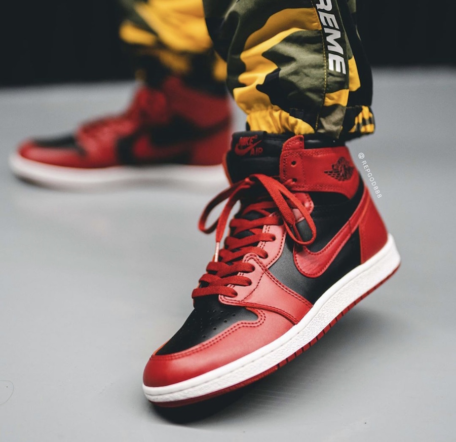 Air-Jordan-1-Hi-85-Varsity-Red-Reverse-Bred-BQ4422-600-Release-Date-On-Feet-9