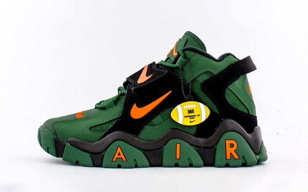 Nike Air Barrage Hurricanes CT8453-300 Release Date