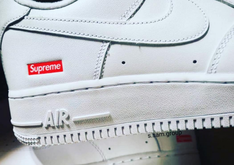 Supreme Nike Air Force 1 Low 2020 White CU9225-100 Release Date