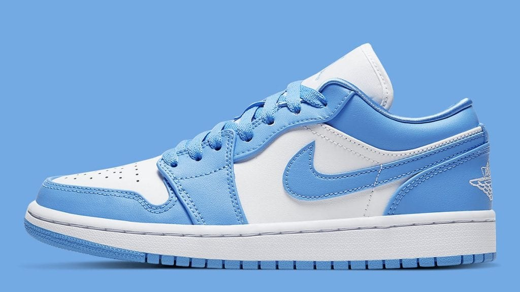 Official Look At The Air Jordan 1 Low Unc Dailysole