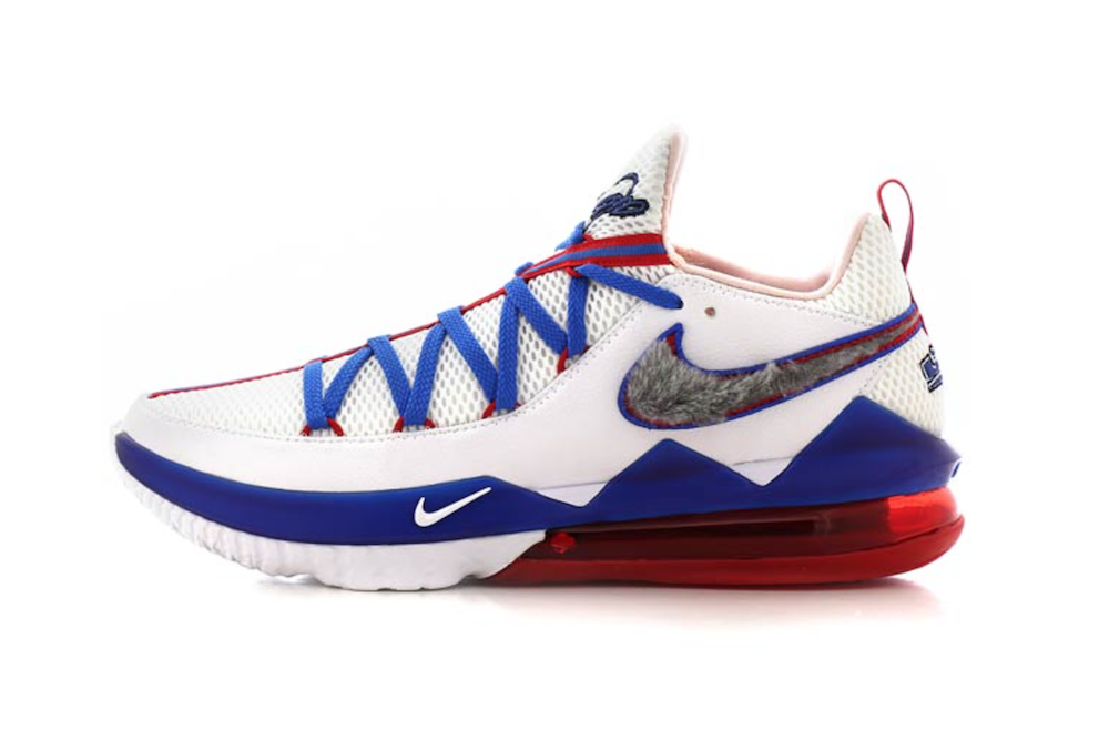 Nike LeBron 17 Low Tune Squad CD5007-100 Release Date
