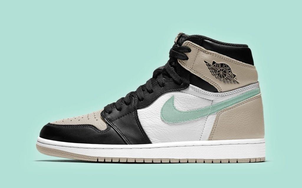 Air Jordan 1 High Fresh Mint 555088-033 Release Date