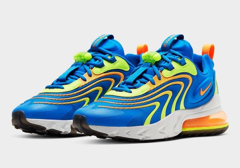 Nike Air Max 270 React ENG Blue Volt CD0113-401 Release Date