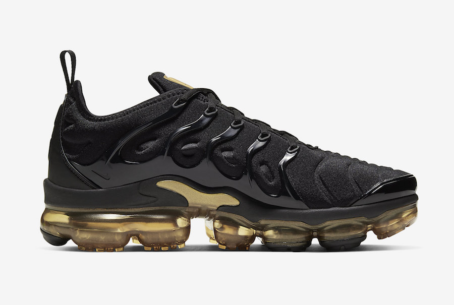 Nike Air VaporMax Plus Black Gold CW7299-001 Release Date