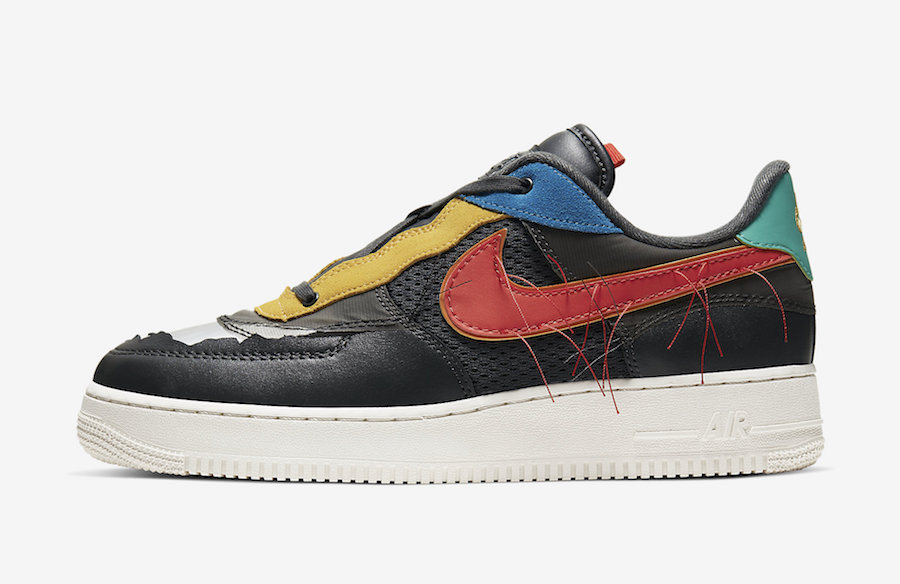 Nike Air Force 1 Low BHM Black History Month CT5534-001 Release Date