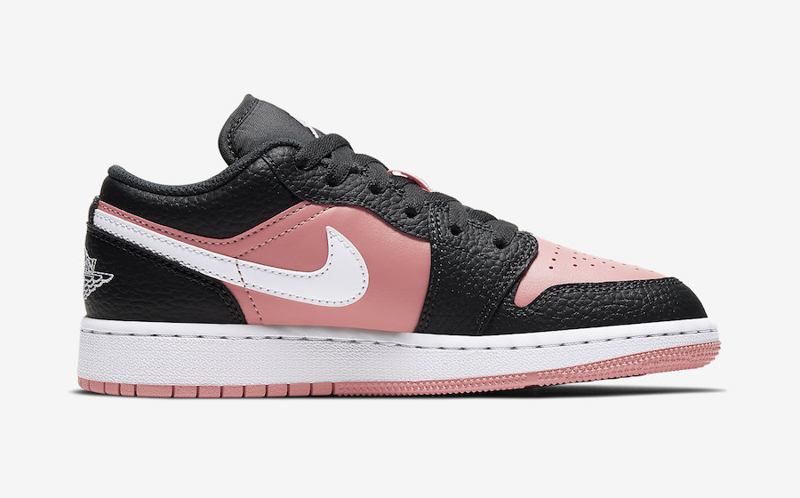 Air-Jordan-1-Low-GS-Pink-Quartz-554723-016-Release-Date-2