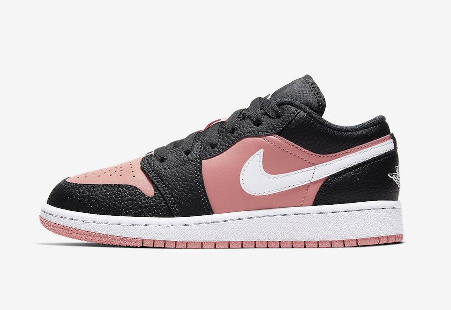 Air-Jordan-1-Low-GS-Pink-Quartz-554723-016-Release-Date