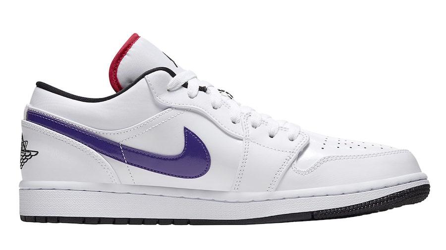 Air-Jordan-1-Low-White-Multi-Color-CW7009-100-Release-Date-3