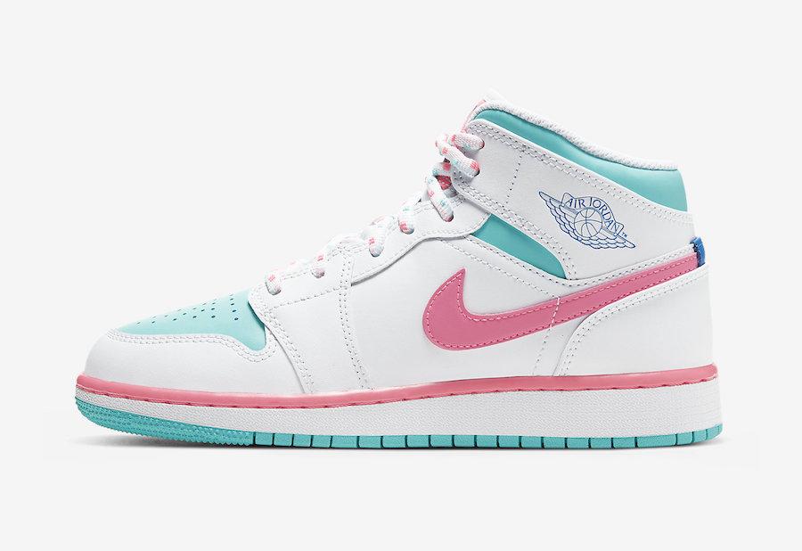 Air-Jordan-1-Mid-GS-Digital-Pink-Aurora-Green-555112-102-Release-Date