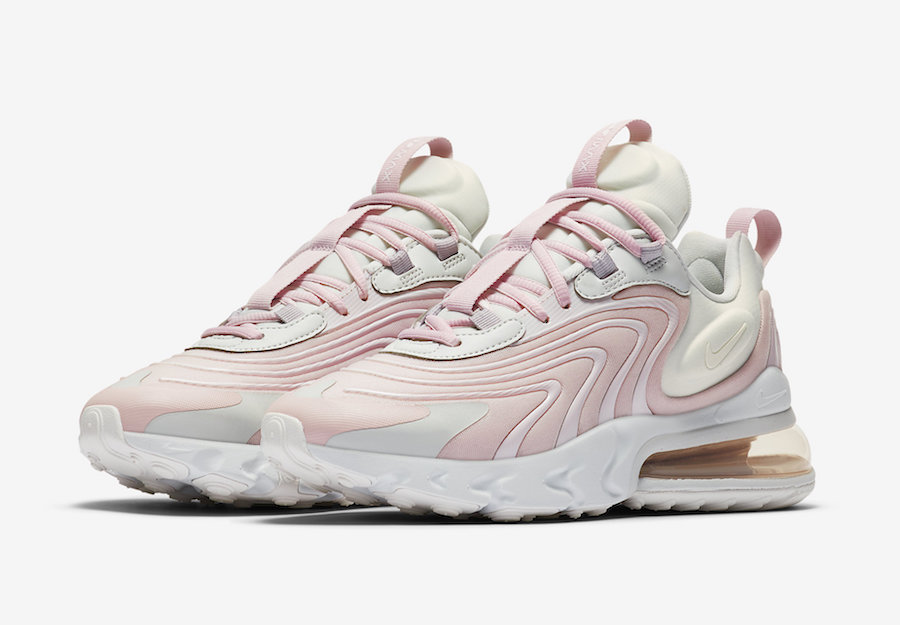 Nike Air Max 270 React ENG Barely Rose CK2595-001 Release Date