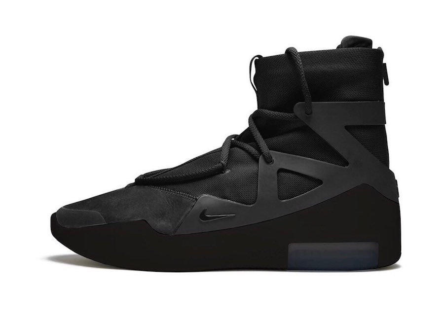 Nike-Air-Fear-of-God-1-Triple-Black-Release-Date