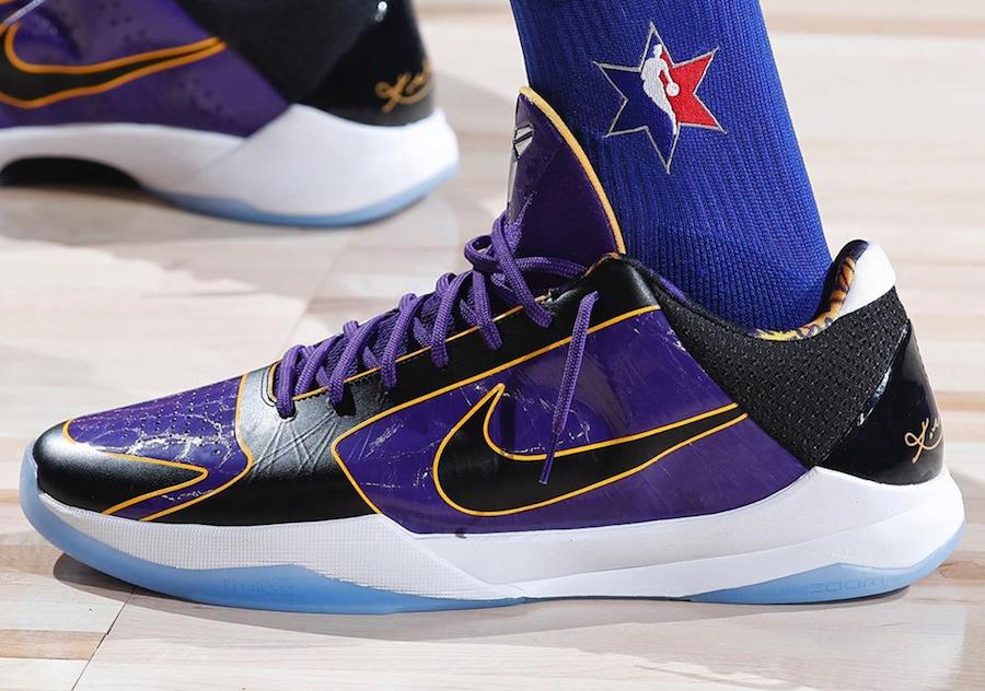 Nike Kobe 5 Protro Lakers CD4991-500 Release Date