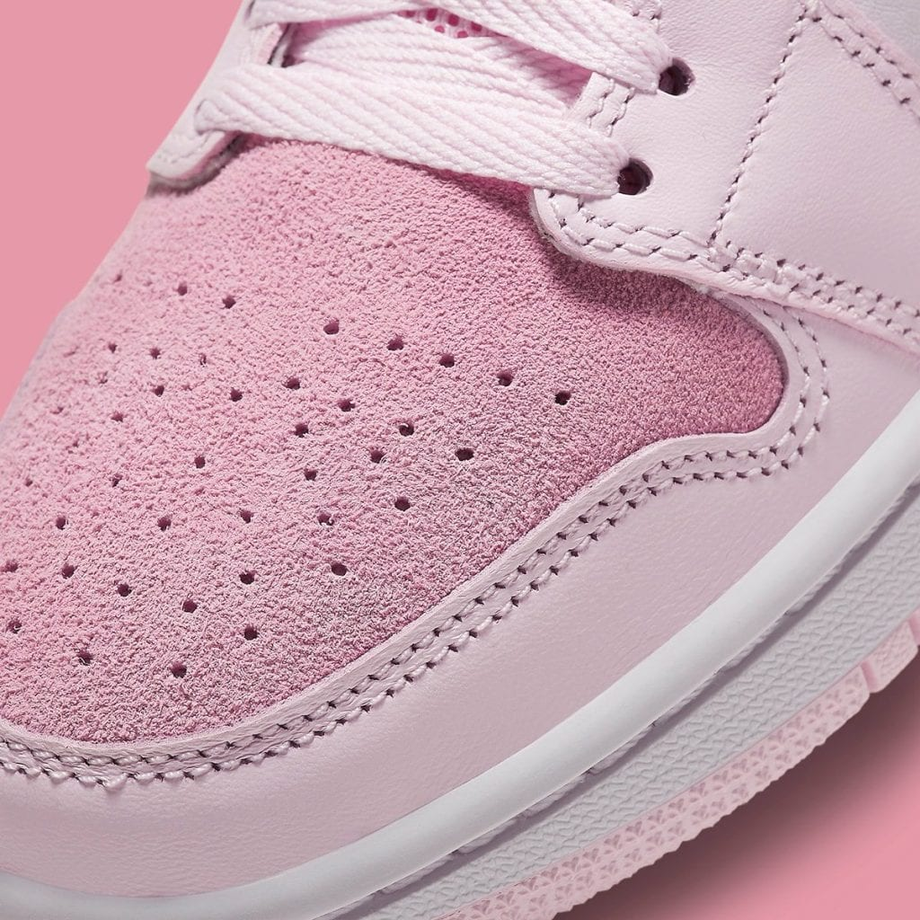 More Looks At The Air Jordan 1 Mid Digital Pink Dailysole