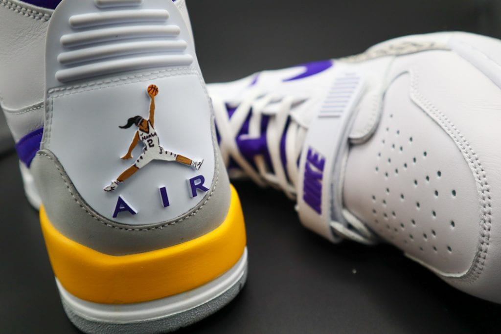 Jordan 312 Kobe and Gigi Custom