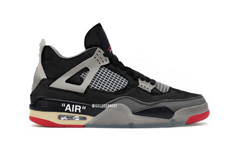 Off White Air Jordan 4 Bred-Featured Image
