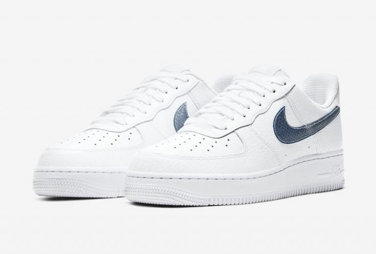 Nike-Air-Force-1-Low-Blue-Snakeskin-CW7567-100-Release-Date