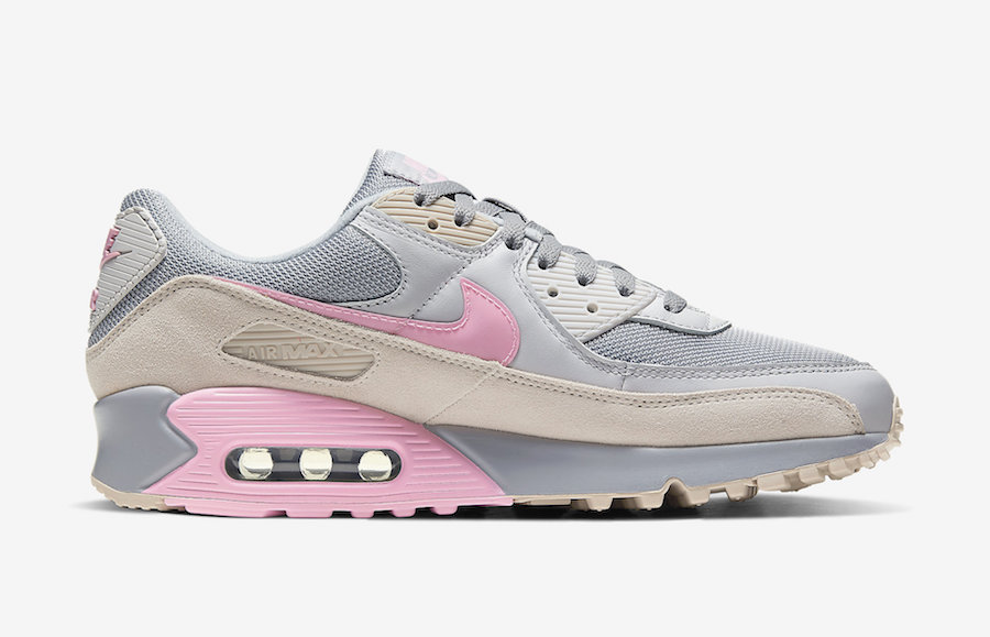 Nike-Air-Max-90-Grey-Pink-CW7483-001-Release-Date-2