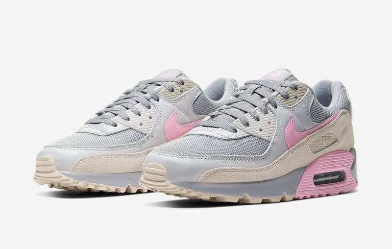 Nike-Air-Max-90-Grey-Pink-CW7483-001-Release-Date-4