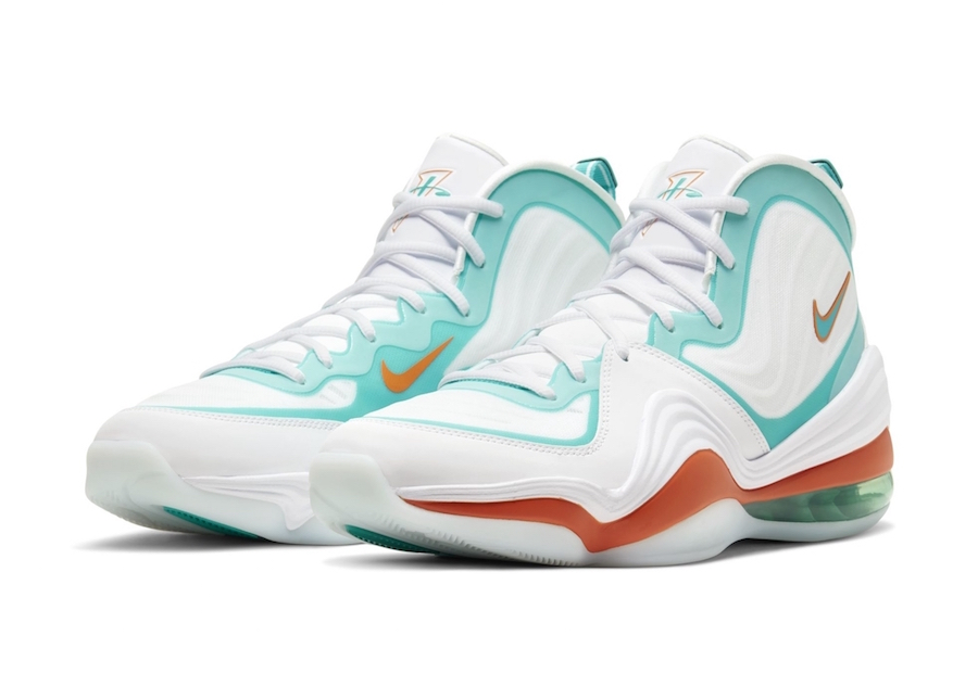 Nike-Air-Penny-5-V-Miami-Dolphins-White-2020-Release-Date