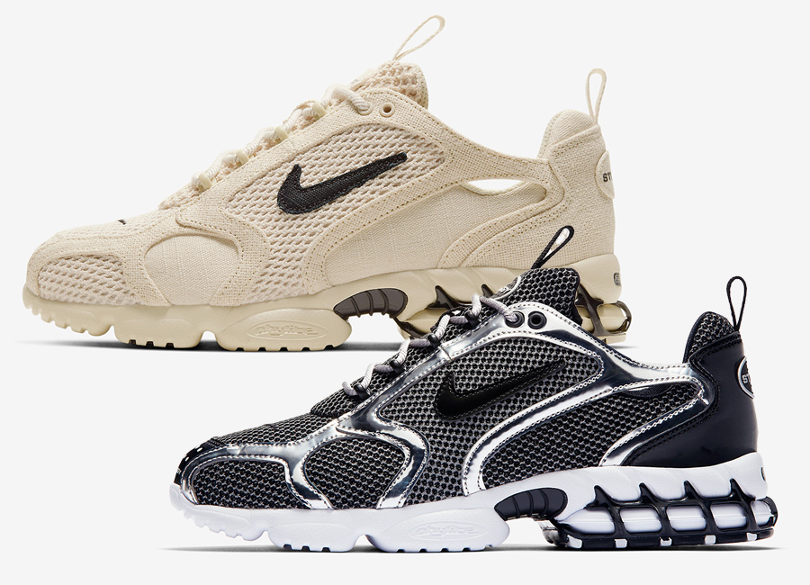 Stussy-Nike-Air-Zoom-Spiridon-Caged-Release-Date