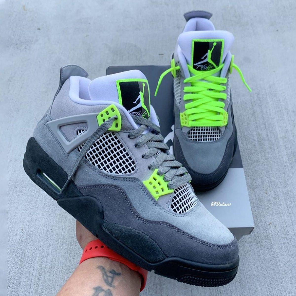nike air max 95 neon green cool grey