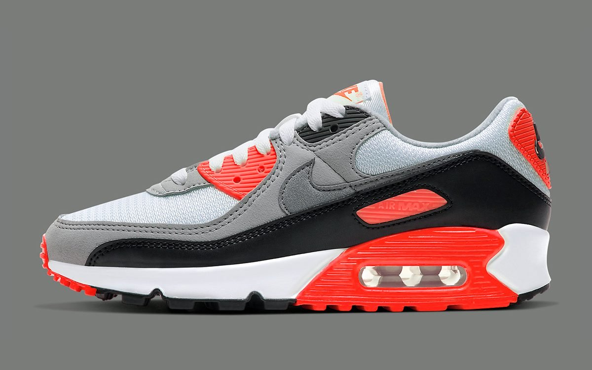 NIKE AIR MAX 90 OG INFRARED RETURNING FOR THE HOLIDAYS ...