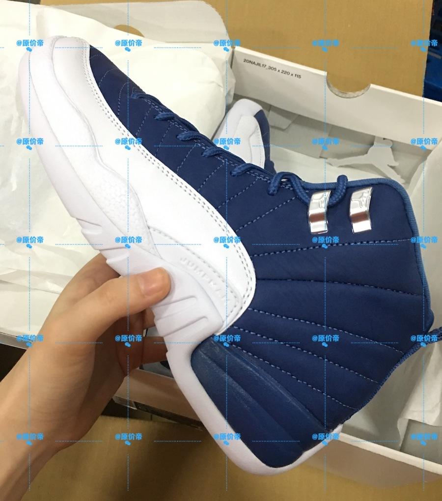 """Air Jordan 12 """"Stone Blue"""""""