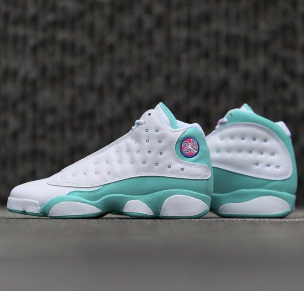 Air-Jordan-13-GS-Aurora-Green-Digital-Pink-439358-100-Release-Date-First-Look-4