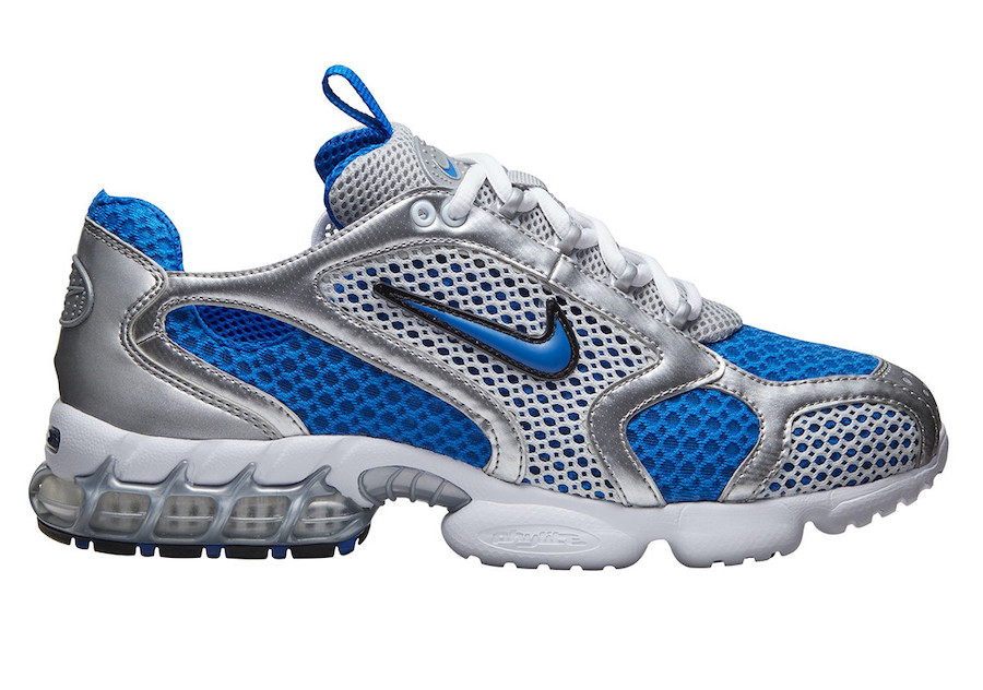 Nike-Zoom-Spiridon-Cage-2-Silver-Blue