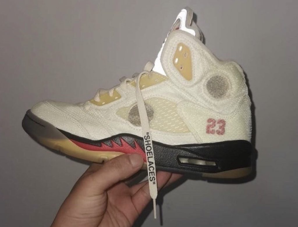 Off-White Air Jordan 5 Sail