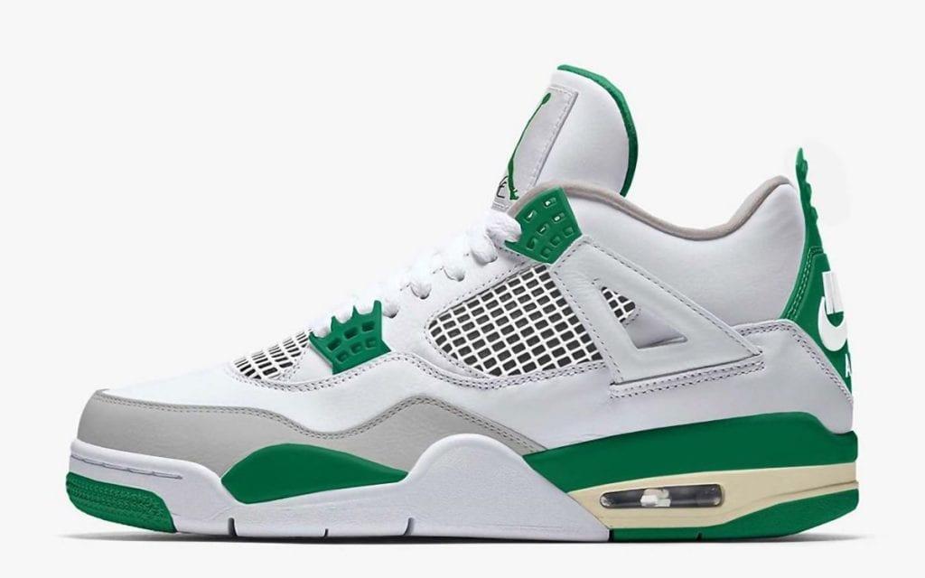 Air Jordan 4 SP Pine Green