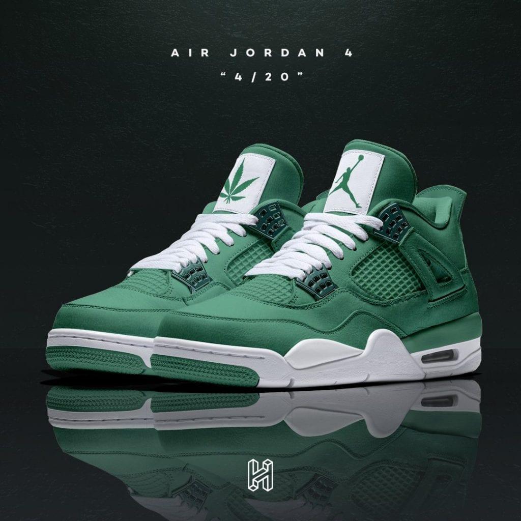 air-jordan-4-weed-420-concept