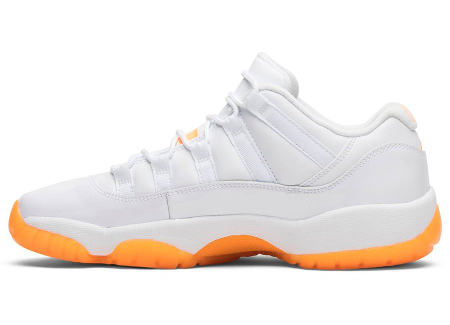 Air Jordan 11 Low WMNS Bright Citrus-2