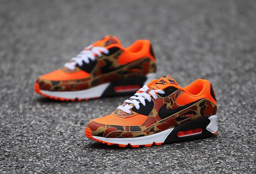 "Nike Air Max 90 ""Orange Camo"""