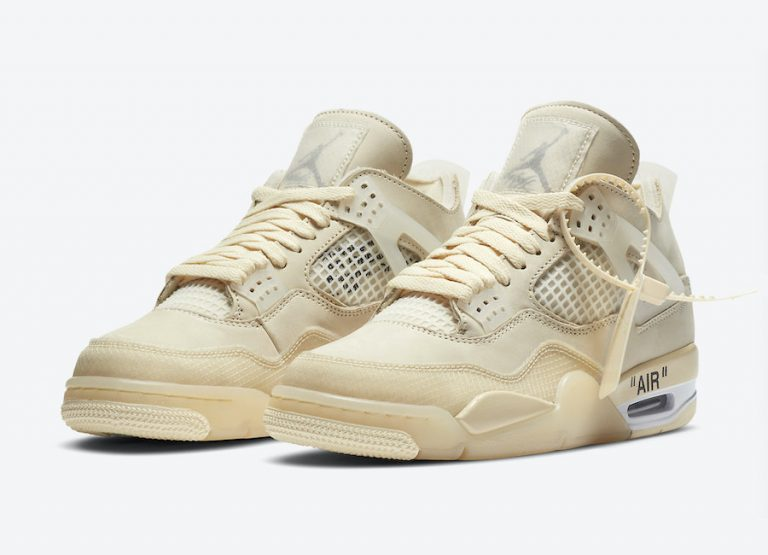 Off-White x WMNS Air Jordan 4 Sail