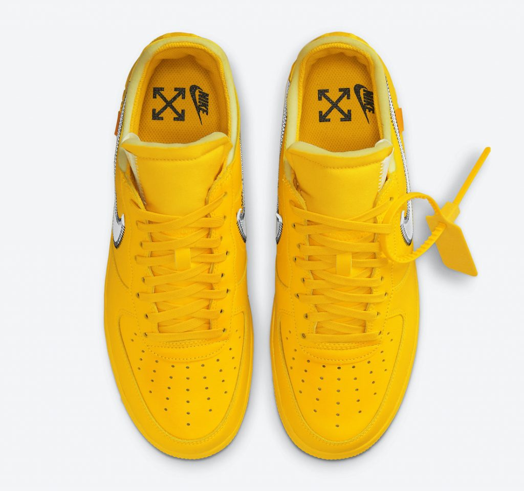 Off-White-Nike-Air-Force-1-Low-University-Gold-DD1876-700-Release-Date-3