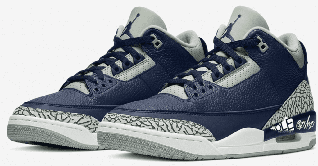 Air-Jordan-3-Midnight Navy-Cement Grey-White-CT8532-401-Featured