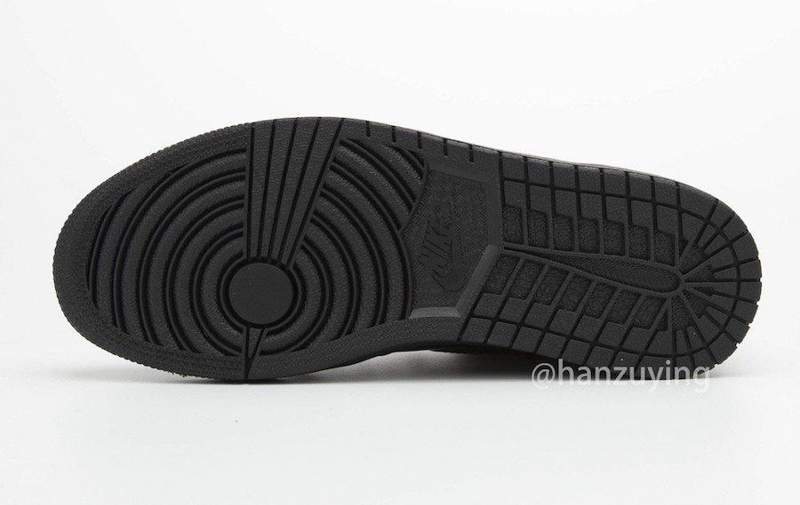 Air-Jordan-1-Black-Metallic-Gold-Patent-Leather-555088-032-Release-Date-8