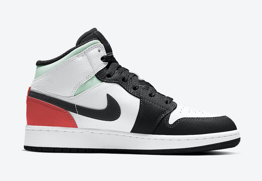 "Air-Jordan-1-Mid-GS-""Black Toe""-BQ6931-100-Release-Date-2"