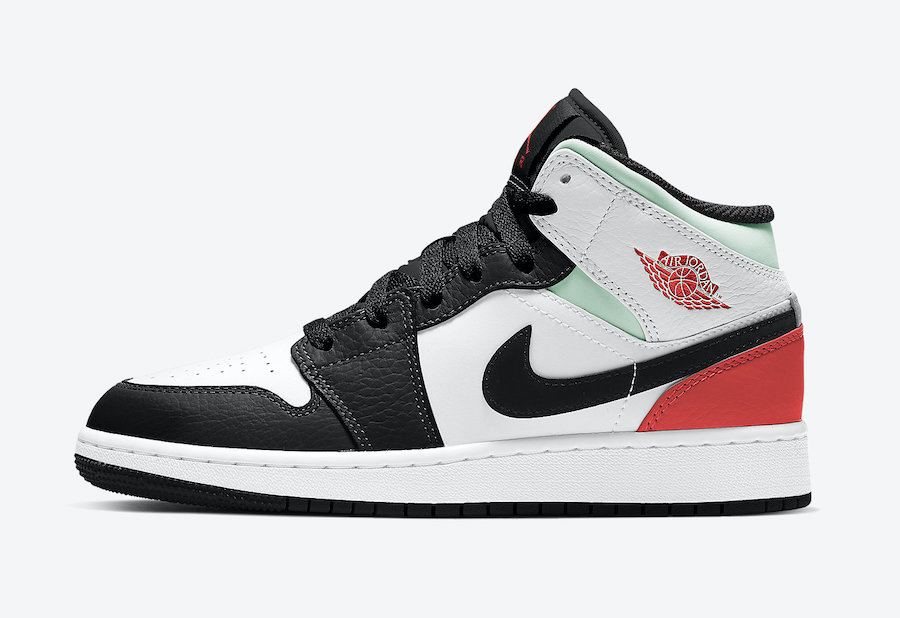 Air-Jordan-1-Mid-GS-Black-Toe-BQ6931-100-Release-Date