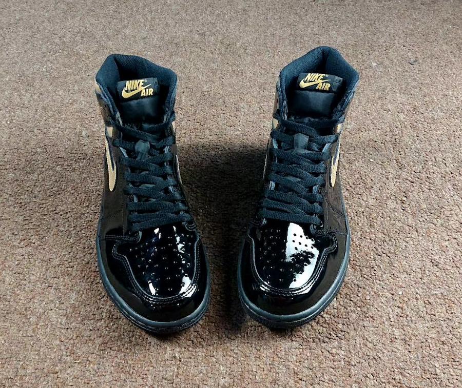 Air-Jordan-1-Patent-Black-Gold-555088-032-Release-Date-2