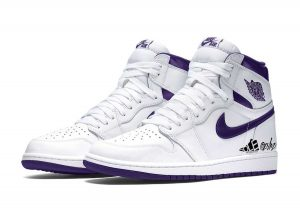 "AIR JORDAN 1 HIGH OG WMNS ""COURT PURPLE"""