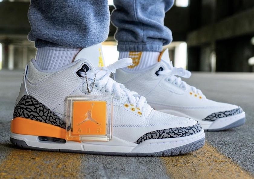 """Air Jordan 3 WMNS """"Laser Orange"""" 1"""