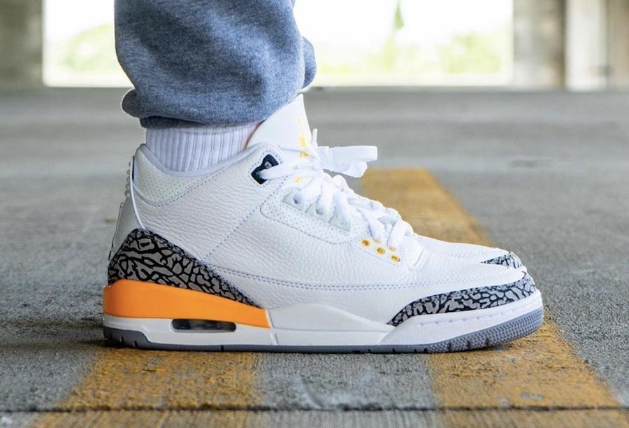 """Air Jordan 3 WMNS """"Laser Orange"""" 2"""